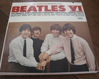 The Beatles VI Original LP