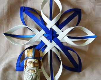 Thor's Hand Woven Nordic Star