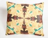 Throw Pillow Cushion Art Deco