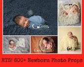 RTS Vegan Flokati Furs * 5 Colors * Flokati Newborn Photo Props Faux FUR Newborn Baby Photo Props, Photography Props, BaSkeT STuFFeR