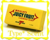 JUICY FRUIT GuM Type* Scented Soy Wax Melts - Soy Wax Tarts - Chewing Gum Type* Scent - Hand Made In USA - Highly Scented