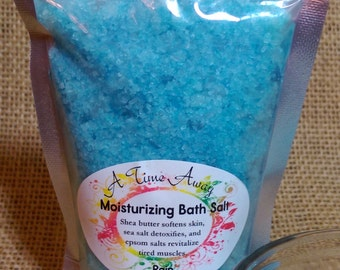 Rain - ULTRA Moisturizing Bath Salts - 7 oz - Detox Aromatherapy!