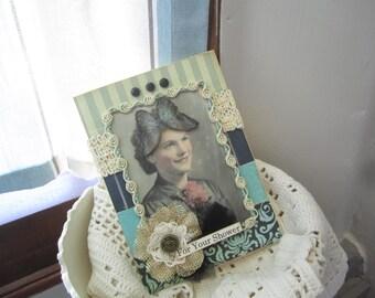 Handmade Card for Shower - Bridal Shower Card