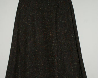 1970's Wool Aline Skirt