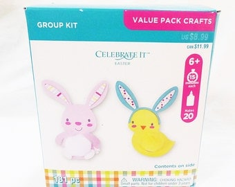 Easter foam craft kit celebrate It kids craft bunny chick