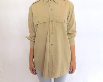 35% OFF SUMMER SALE The Khaki Military Shirt