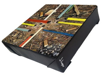 "Title ""An Anthill in Rome"" -  Signed print on gallery wrapped canvas."