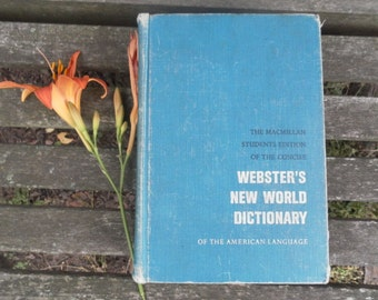 Webster's New World Shabby Chic  Dictionary 1962