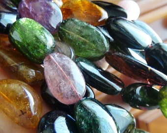 35% OFF Multi Tourmaline smooth nugget