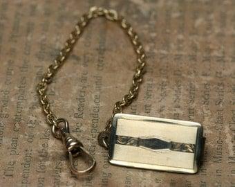 Vintage Belt Watch Clip - Gold Tone Metal