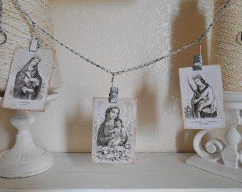 Metal Photo Clips Faith Theme