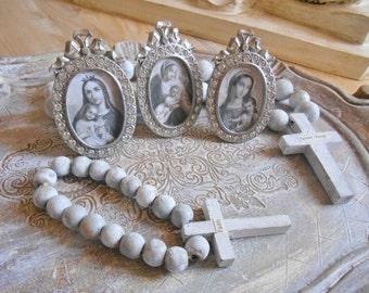 Religious Themed Set of 3 Mini Frames