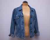 classic women's denim jacket - Liz Claiborne - med/large