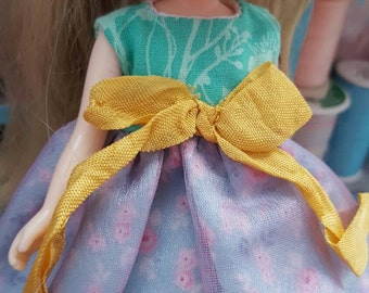 OOAK little dress for Middie & Similar Dolls