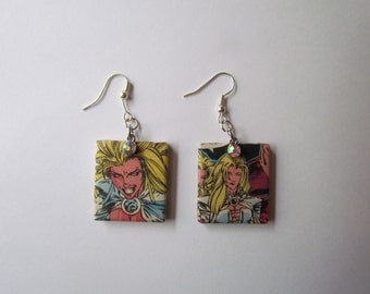Emma Frost Earrings