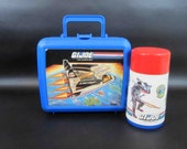 Vintage GI Joe Lunchbox with Thermos