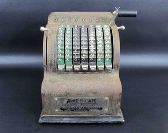 Vintage American Adding Machine. Patented 1912