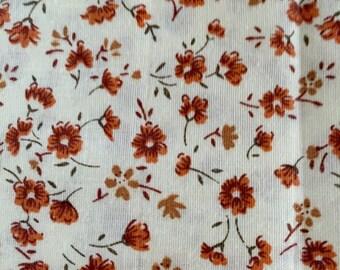 Vintage Fabric Yardage Calico