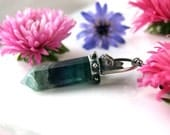 Nature's Power - Fluorite Sterling Silver Necklace
