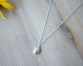 Sterling Silver Organic Pendant with 20 inch chain N3