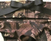 NEW Dog Diapers Britches or Panties Brown True Timber Excellent Quality Cotton Camoflage Camo with Brown Trim