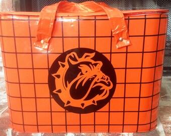 Orange and Black Retro Cooler