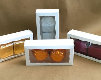 LUXURY  Buttery Bath Melts, 2 pack, in candy boxes, Choose your Scent!
