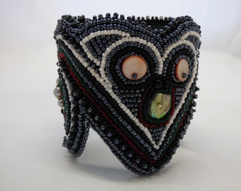 More-Pork OWL CUFF BRACELET