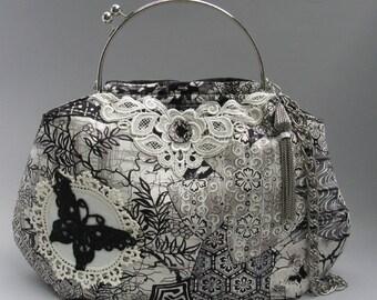 Butterfly Garden Handbag