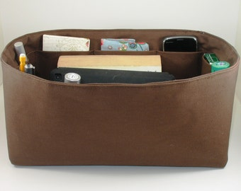 Purse Organizer Insert - fits LV Speedy 35 - Inside pockets only - Choose color from drop down menu.