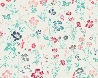 Cotton Fabric, Ditsy Fabric, Art Gallery Premium Cotton Fabric Ditsy Radiance