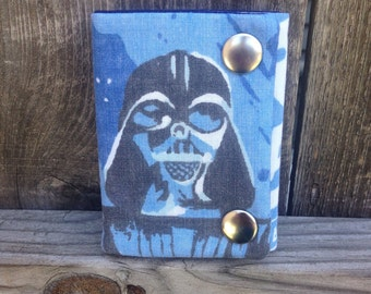 Star Wars Darth Vader Three Fold Chain Wallet Recycled
