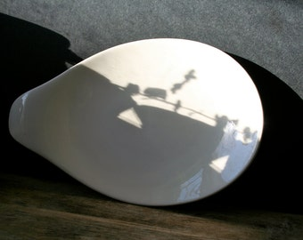 Vintage Eva Zeisel Platter Hall Hallcraft Tomorrow's Classic White SALE