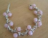 Vintage costume jewelry  /  bracelet