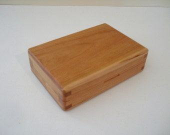 Cherry Wood Fly Box (16-2)