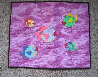 Quilted catmat blanket