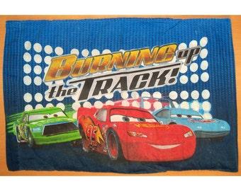 Disney Pixar Cars Burning up the track Standard Pillowcase