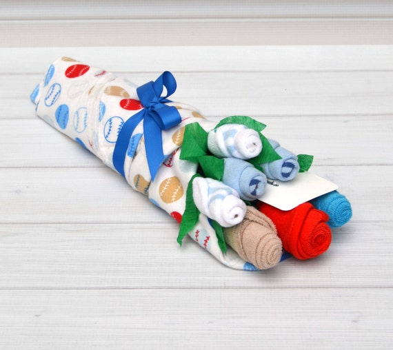 Baby Boy Gifts Flowers : Baby boy gift flower bouquet by
