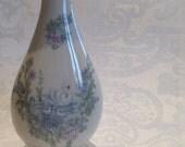 1983 Mothers Day Lenox Vase, swan and floral vase, vintage lenox