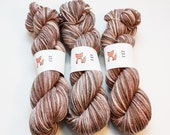 Reindeer: The Nordic Series - Hand Dyed Wool Worsted Weight Yarn on Classic Fox Base