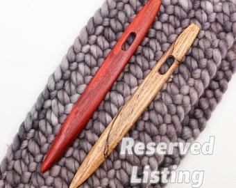 Reserved for Kaira: Set of 2 Nalbinding Needles