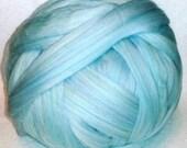 Roving,Wool Roving, Merino Roving, Merino Wool Roving, Merino-Multi Color Wool Roving, Blue Roving - Ashland Bay Roving, Primrose - 8oz