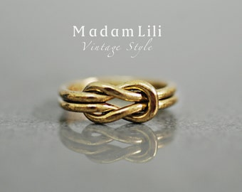 INFINITY Vintage Knuckle Ring
