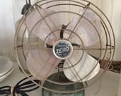 Vintage Turquoise Fan-Zero