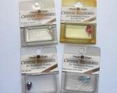 Mill Hill Crystal Treasures - Teardrops - Lot of 4 - Free U.S. Shipping