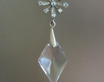 December Snowflake Swarovski Earrings