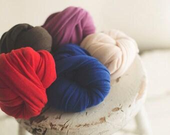 Stretch Knit Wrap - Newborn Knit Wrap - Monday SALE - Strech Wrap - ROYAL BLUE - Plush Weave Knit Wrap -