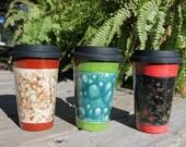 classic . travel mug - Cup Holder Base Travel Mug