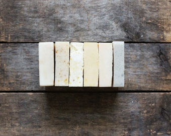 One (1) Large Soap Second, SALE, one large bar, imperfect soap, handmade soap, cold process soap, vegan soap, all natural soap, herbal soap