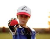 Ash Ketchum - Pokemon Costume - Sizes 12 month - Kids 12/14